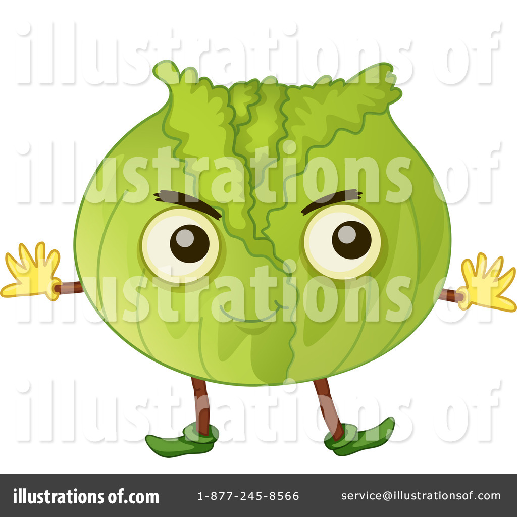 Cabbage clipart illustration. By graphics rf royaltyfree