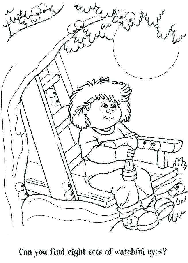 Cabbage clipart kid. Patch kids coloring pages