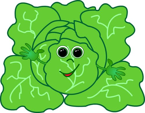 cabbage clipart kid