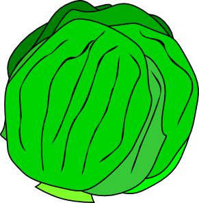 Cabbage clipart lettuce leaf. Whole clip art at