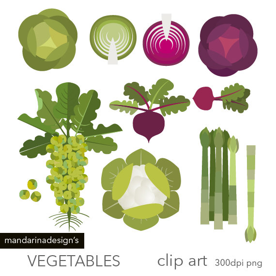 Cabbage clipart printable. Vegetables brussels sprouts cauliflor