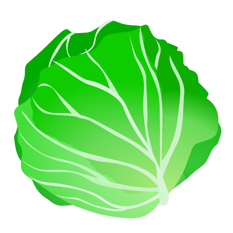 Cabbage recipes vegetables fruit. Pear clipart face