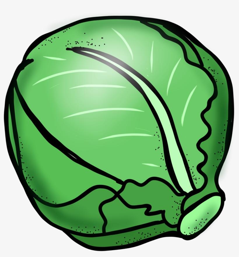 Clip art free transparent. Lettuce clipart cabbage
