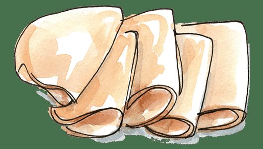 Clipart turkey turkey breast. Organic oven roasted snack