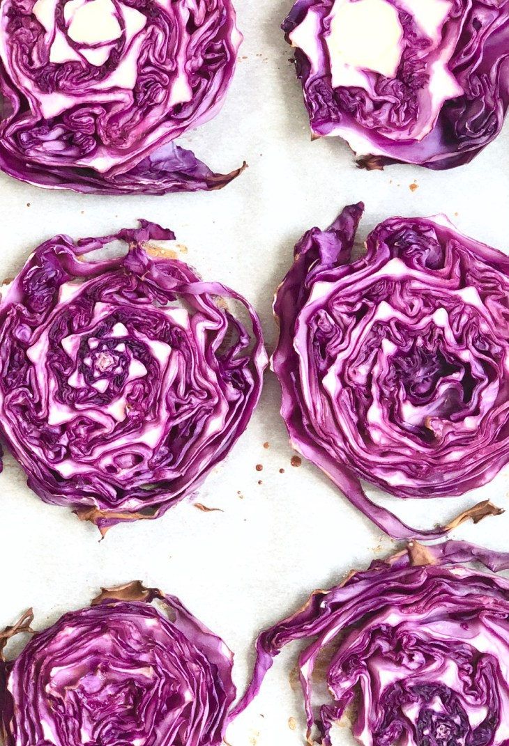 Roasted steaks with apple. Cabbage clipart turkey slice