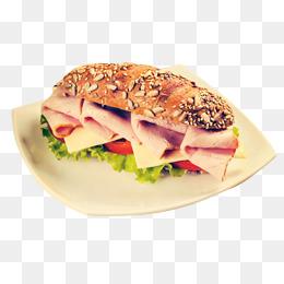 Ham png vectors psd. Cabbage clipart turkey slice