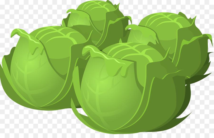 Green leaf background lettuce. Cabbage clipart vegetable