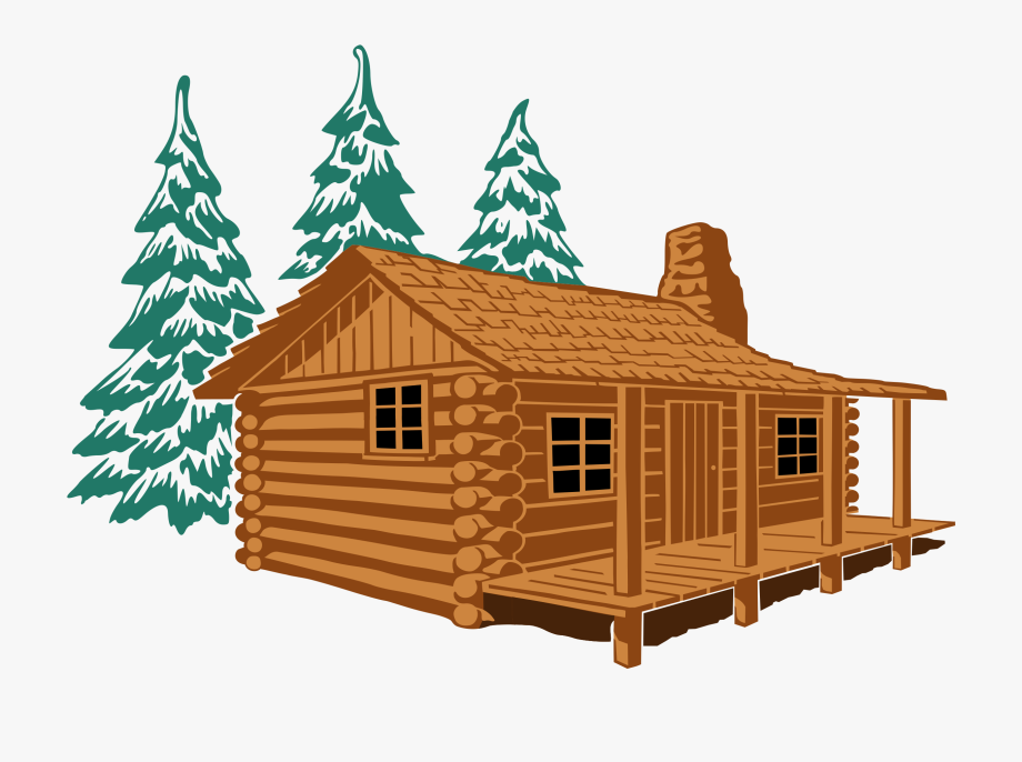 Cabin clipart. Showing post media for