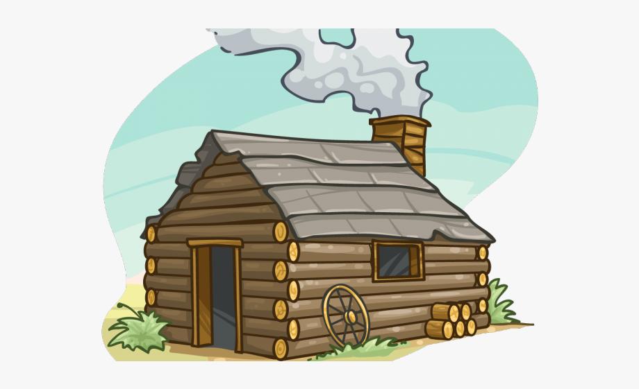 Cottage clipart transparent. Cabin pilgrim cartoon png