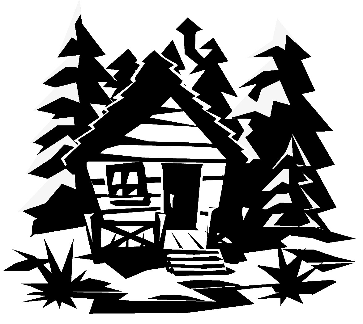 Lake clipart vacation home. Cabin clip art free