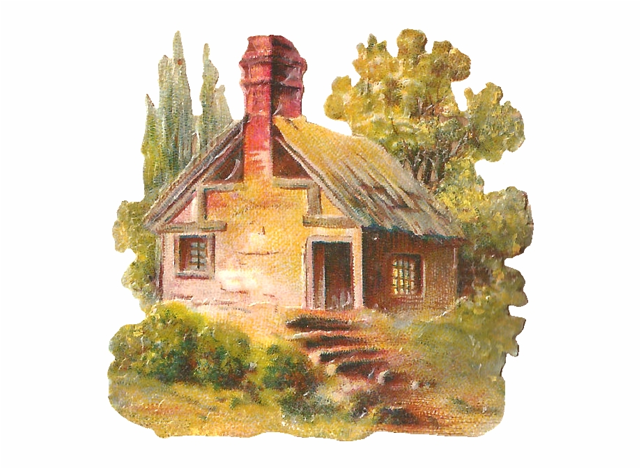 This is a piece. Cottage clipart clip