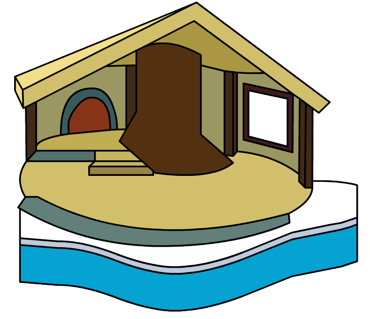 Cottage clipart cozy cottage. Igloo club penguin wiki
