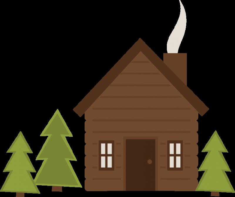 Lake clipart vacation home. Free log cabin cliparts