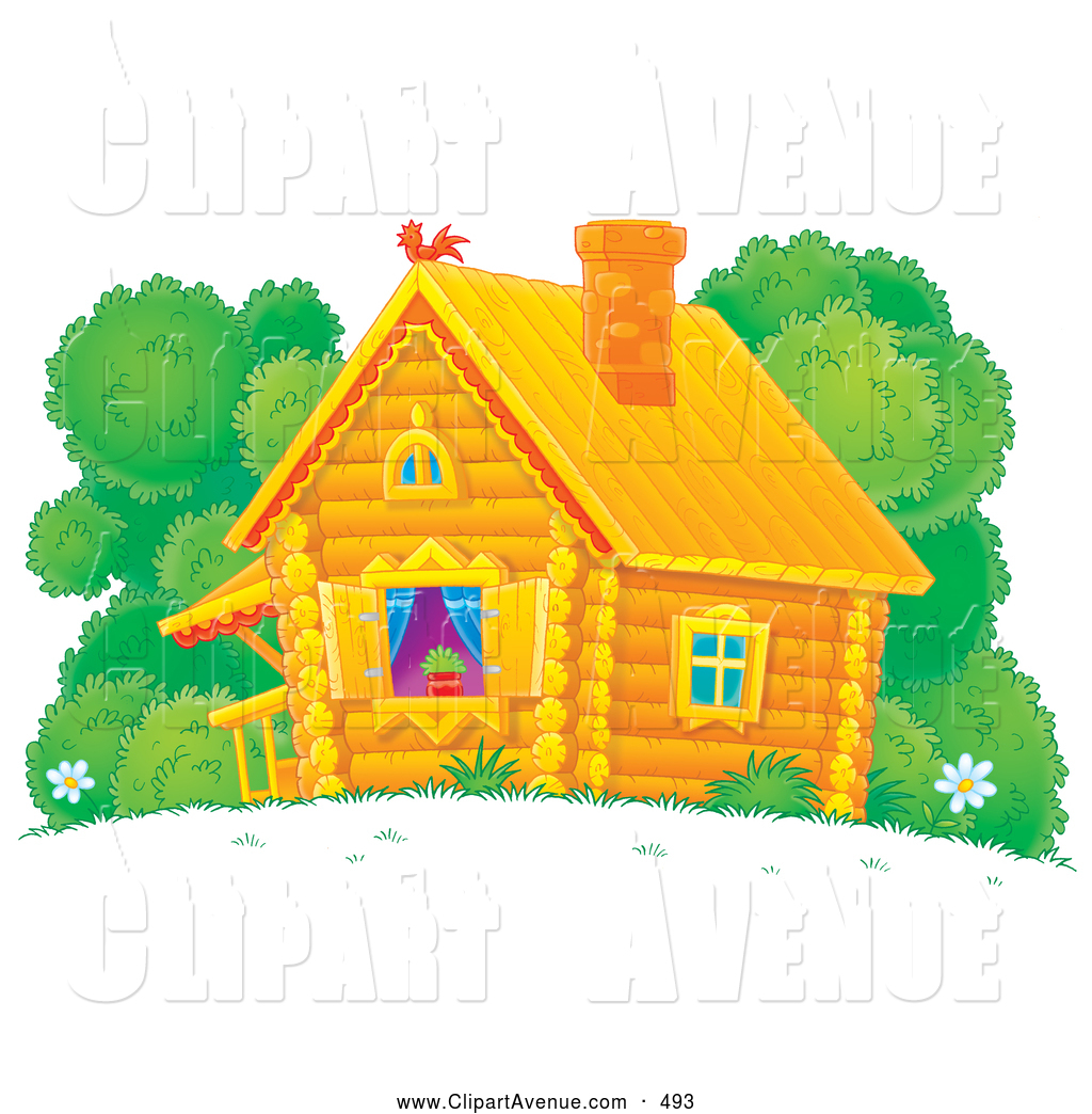 Cottage clipart pretty house. Avenue of a cute