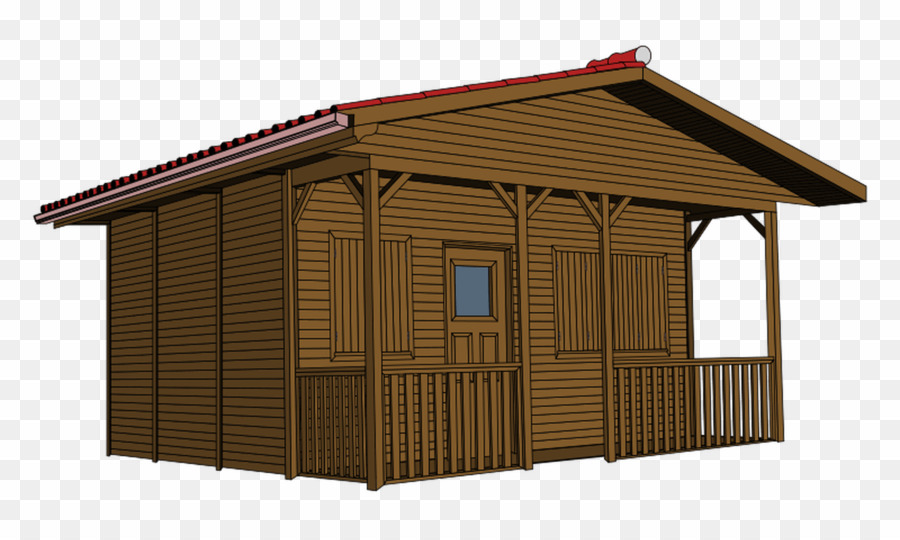 Wooden house png log. Cabin clipart hut