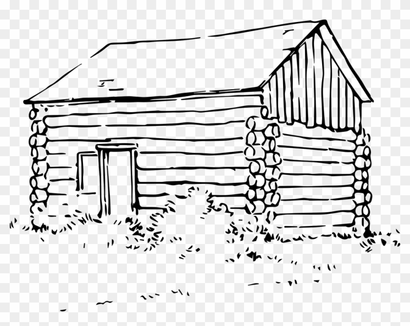 Cabin clipart log home. Building house png image