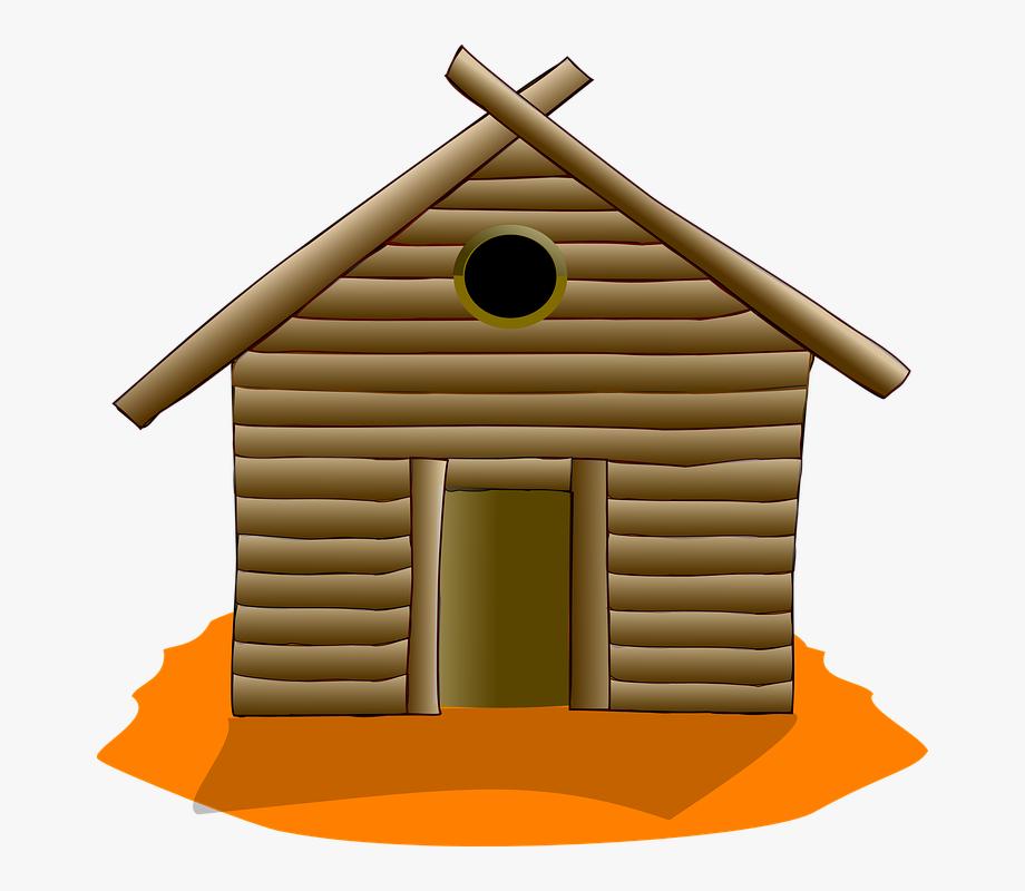 House rustic clip art. Cabin clipart log home