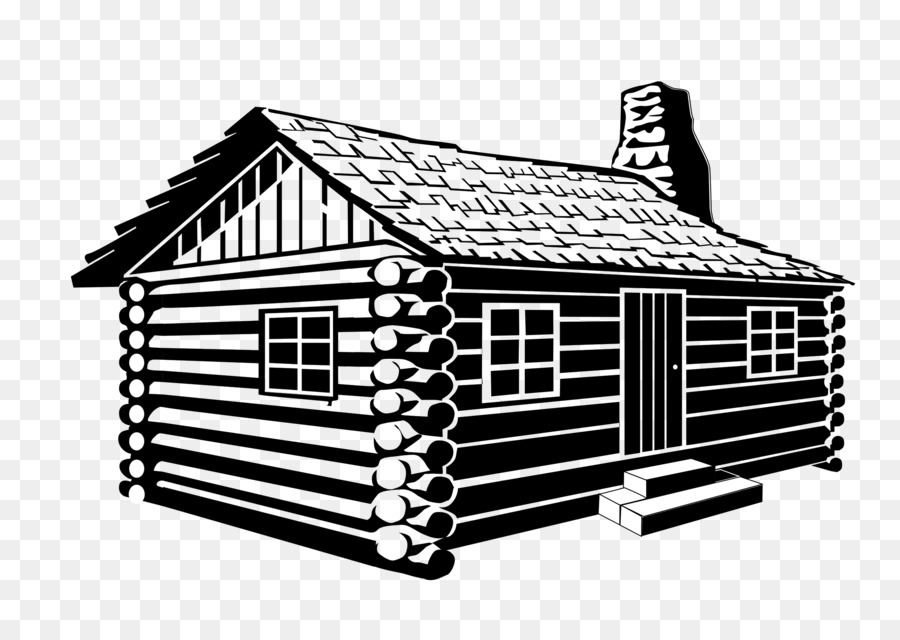 Cabin clipart log house. Building cartoon drawing