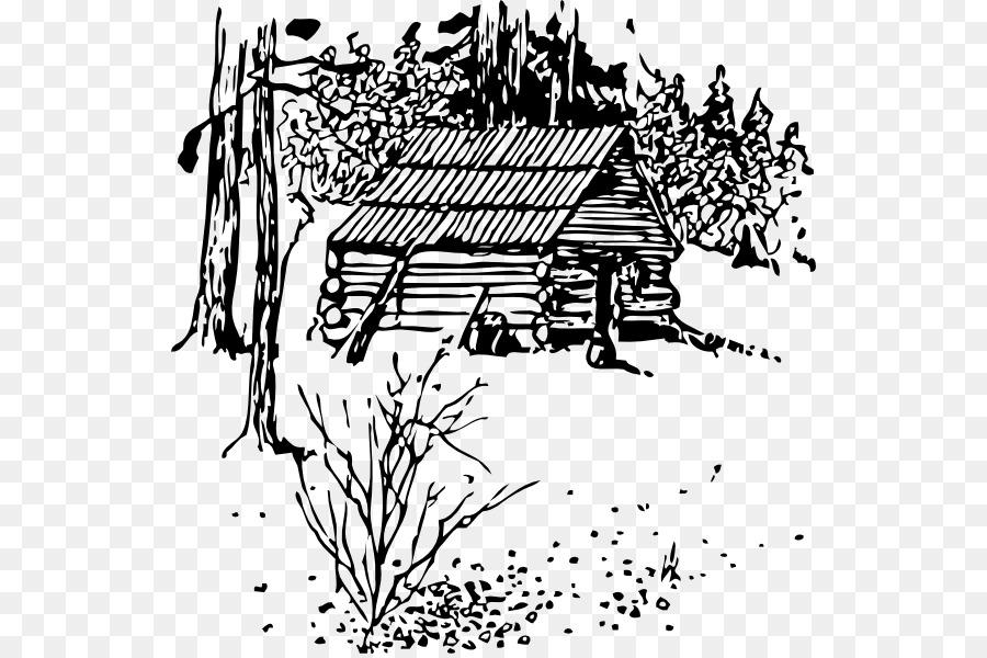 Log clip art cliparts. Cabin clipart mountain cabin