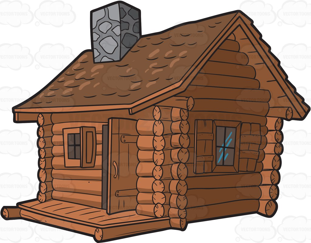 Cabin clipart outline. Drawings of a dog