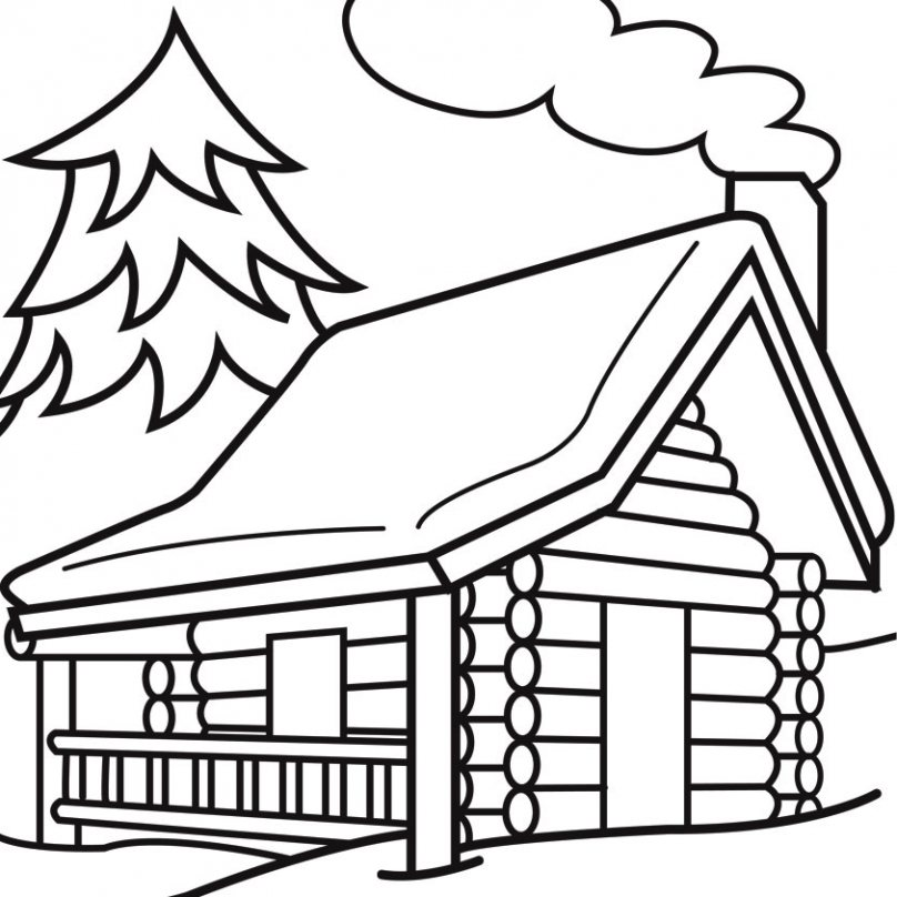 Cabin clipart outline. Library smeethsaysfashion com photo
