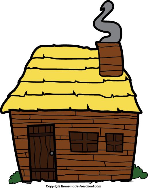. Cabin clipart pilgrim house