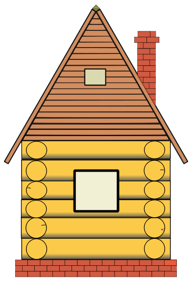 Cabin clipart pilgrim house.  collection of high
