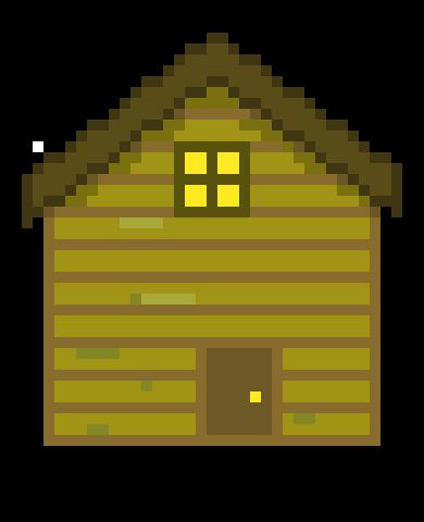 Cabin pixel