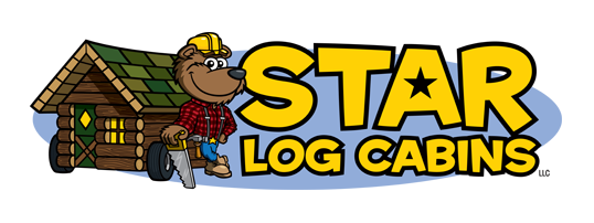 Cabin clipart rustic cabin. Unfinished cabins star log