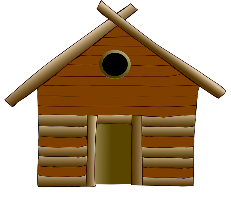 Free png log cabin. Lake clipart cottage