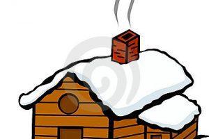 Portal . Cabin clipart snowy cabin