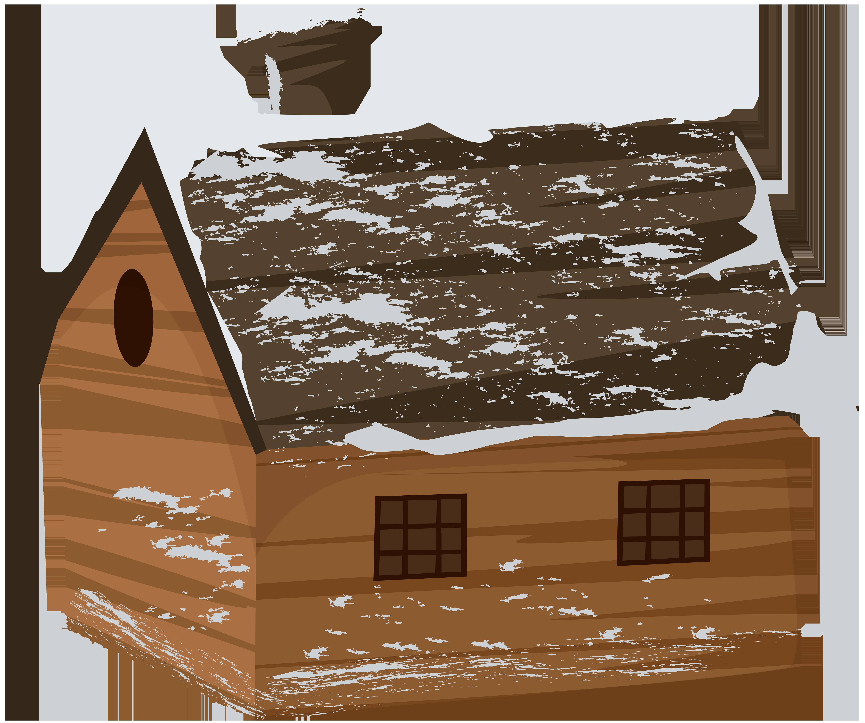 Winter clipart log cabin. House transparent png clip