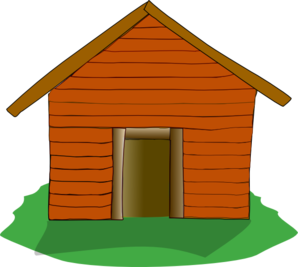 Camping panda free images. Cabin clipart transparent background