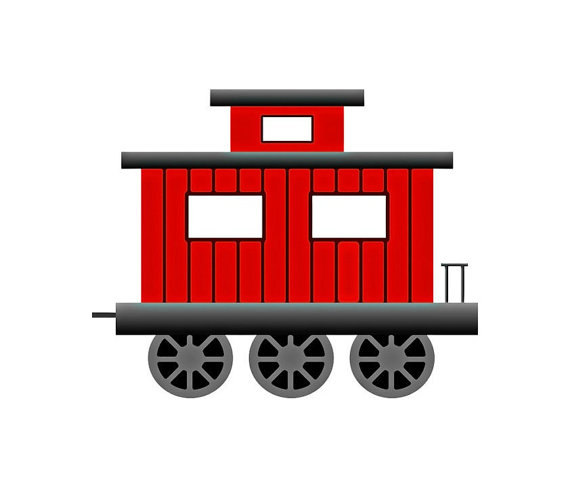Collection of free download. Caboose clipart