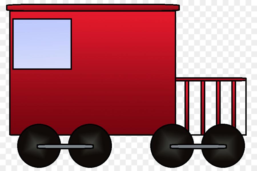 Train rail transport passenger. Caboose clipart