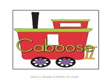 Caboose clipart. Line leader letters best