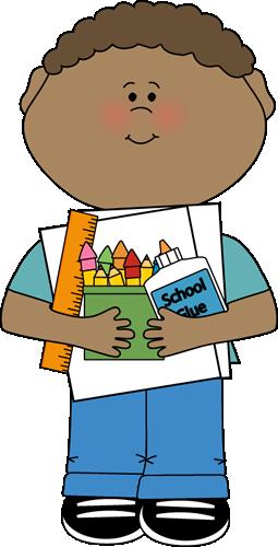 Classroom supply monitor job. Jobs clipart boy