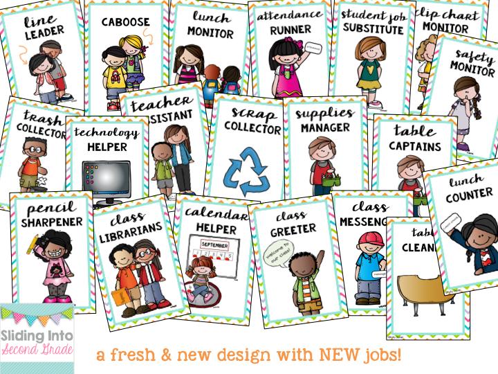 Classroom cartoon . Jobs clipart student job