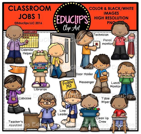 Classroom jobs clip art. Caboose clipart job