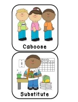 Caboose clipart job. Ipad class bulletin board