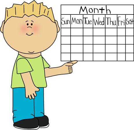 calendar clipart classroom #38293211
