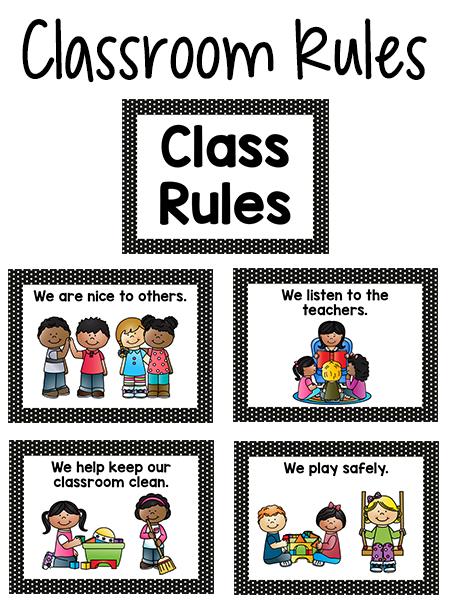 Caboose clipart preschool classroom rule. Pre k rules class