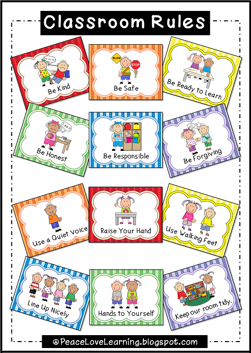 Adorable rules posters with. Caboose clipart preschool classroom rule
