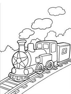 Locomotive drawing at getdrawings. Caboose clipart steam engine