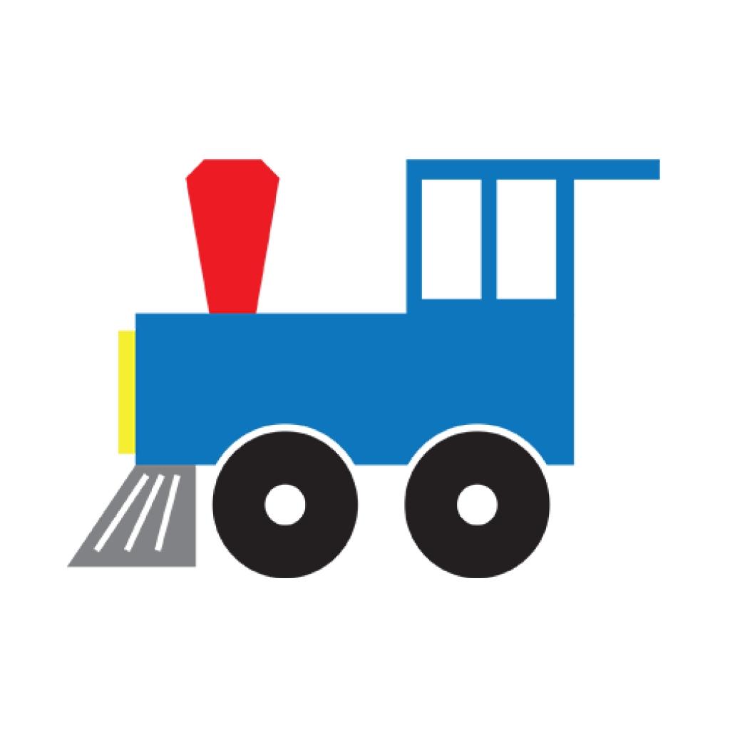 Engine clipart caboose. Group train panda free