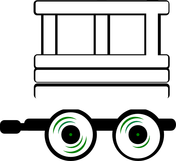 Loco carriage clip art. Engine clipart animated train