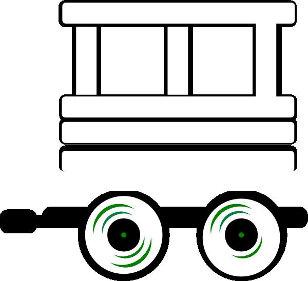 Loco carriage clip art. Caboose clipart train bogie