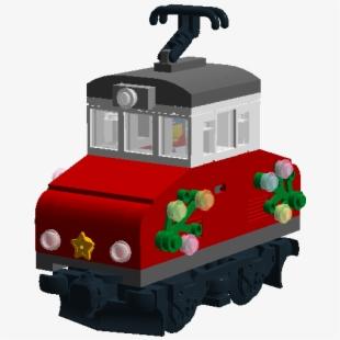 Construction set toy . Caboose clipart train bogie