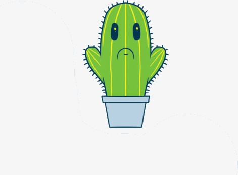 Cartoon animation png image. Cactus clipart animated