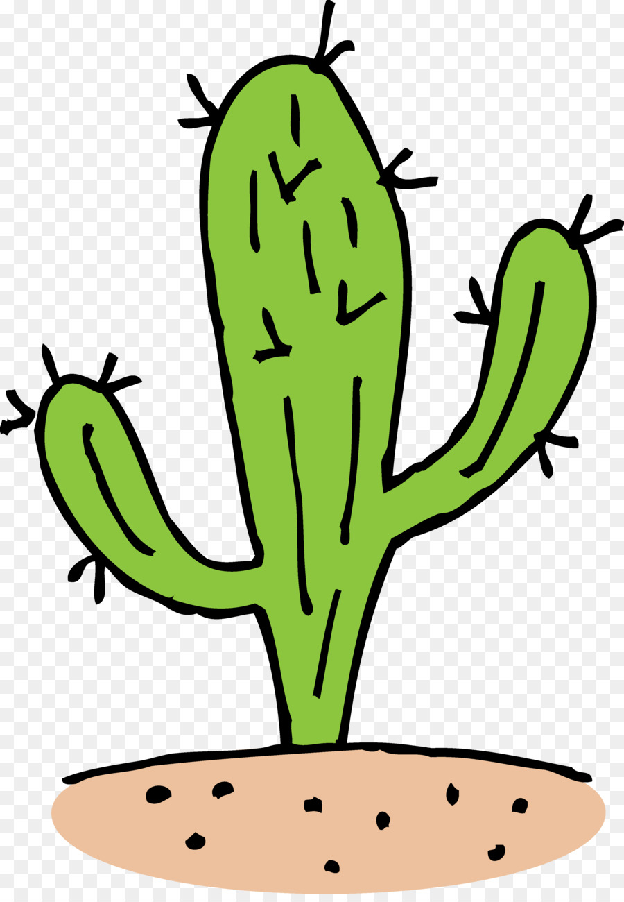 Cactus clipart animated. Cactaceae black and white